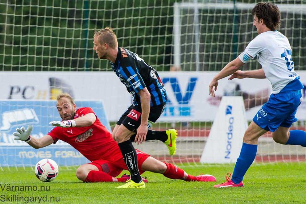 Björn Åkesson, IFK-målvakt i aktion