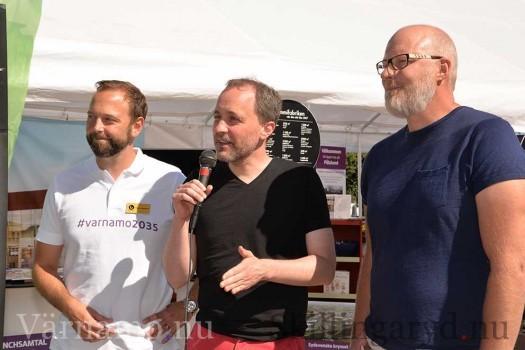 Torbjörn Hörnquist, Lars Alkner samt Adam Svensson