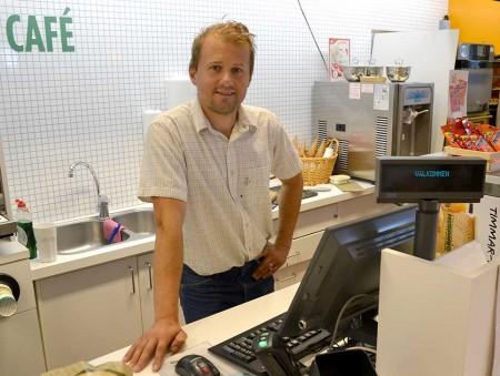 Mikael Crafoord är naturligtvis nöjd med att ha klara Ultravasan. Men det är inte säkert att det blir fler starter. Foto: Kåre Boberg