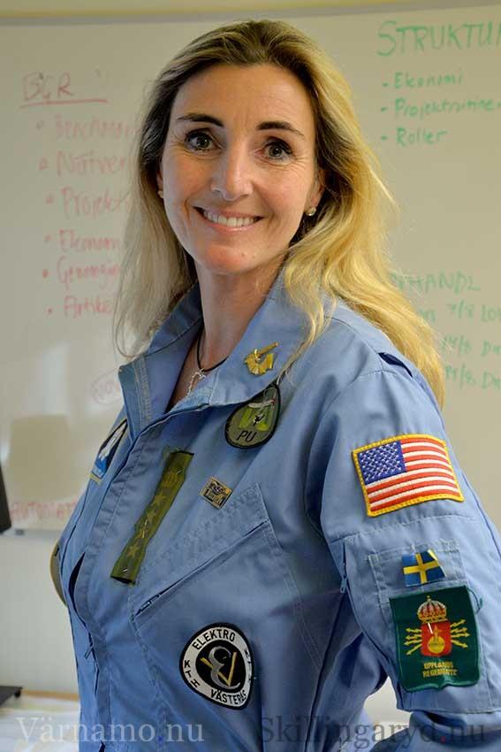 Nina von Krusentjärna, med ett förflutet som rymdingenjör, ser många fördelar med att personalcheferna i regionen träffas.