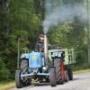 Traktorerna fick kämpa i uppförsbackarna.
