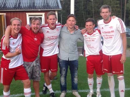 Sex målskyttar i hemmalaget: Andreas Gustafsson,Martin strand,Erik Larsson,Simon Gustafsson,Filip Albertsson och Erik Ohlin.